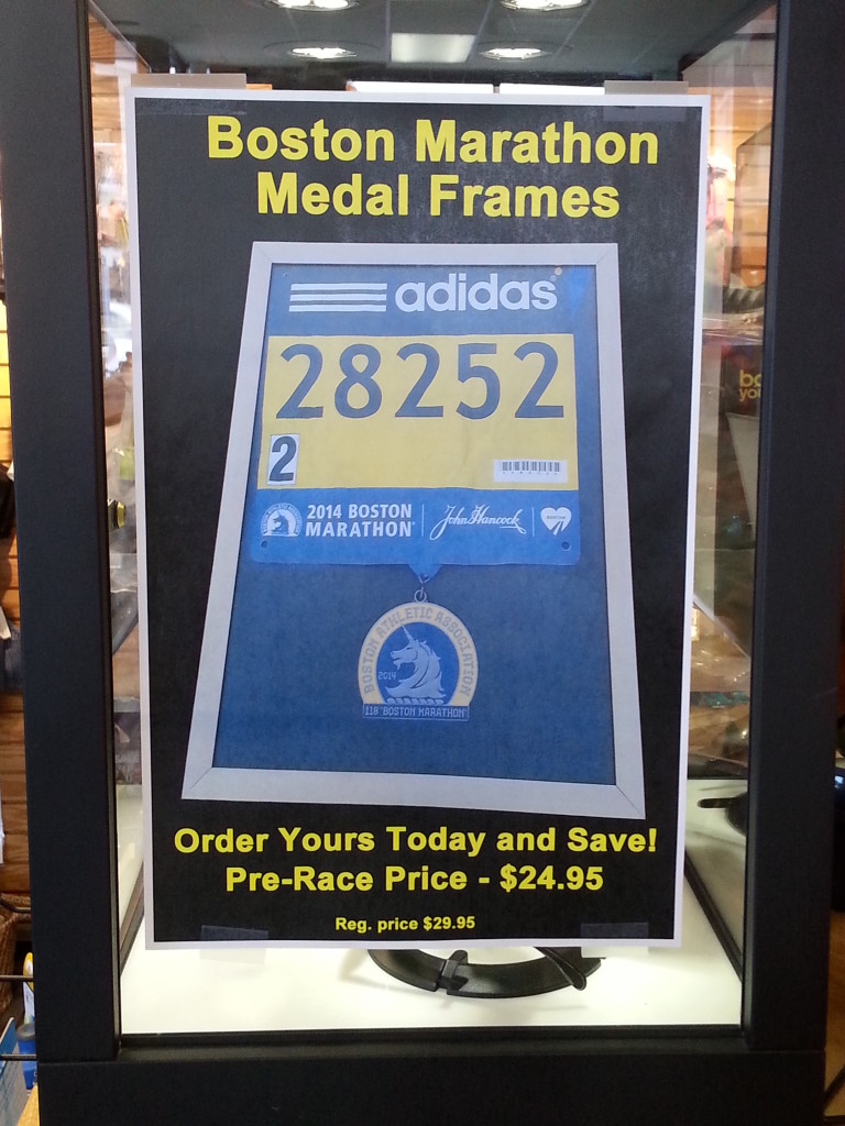 Boston Marathon Frames Omni Running
