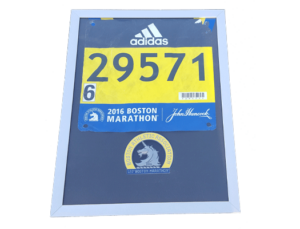 boston marathon, display frame